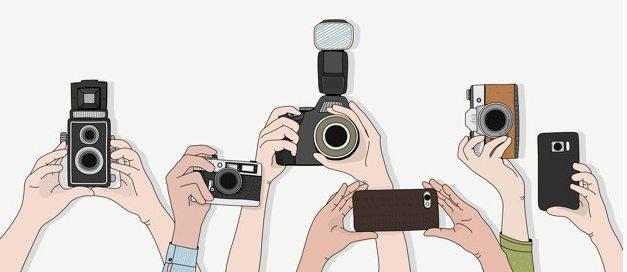Máquina Fotográfica DSLR e telemóveis  Edição de Imagem Clipboard01