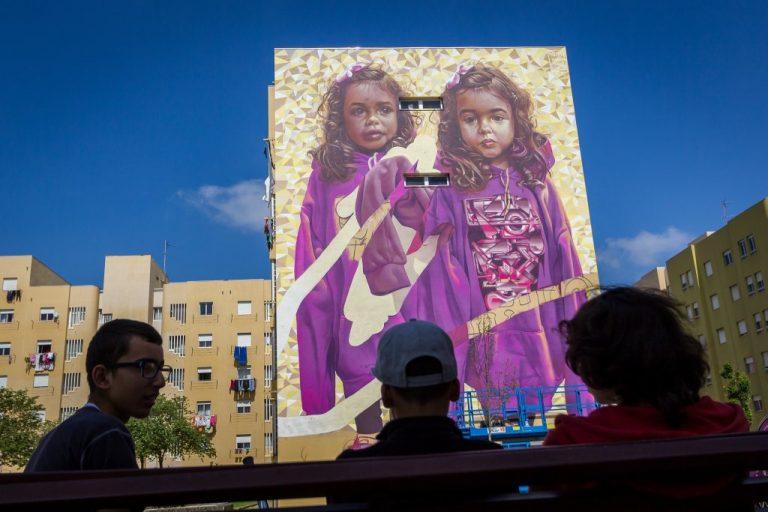 Festival de Arte Urbana Muro, Bairro Padre Cruz, Fotógrafo diogogarcia.com  Muro, Festival de Arte Urbana 0008 diogogarcia