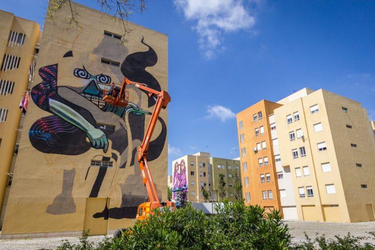 Festival de Arte Urbana Muro, Bairro Padre Cruz, Fotógrafo diogogarcia.com  Muro, Festival de Arte Urbana 0015 diogogarcia
