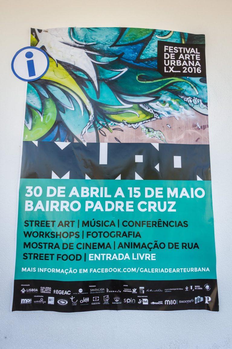 Festival de Arte Urbana Muro, Bairro Padre Cruz, Fotógrafo diogogarcia.com  Muro, Festival de Arte Urbana 0042 diogogarcia