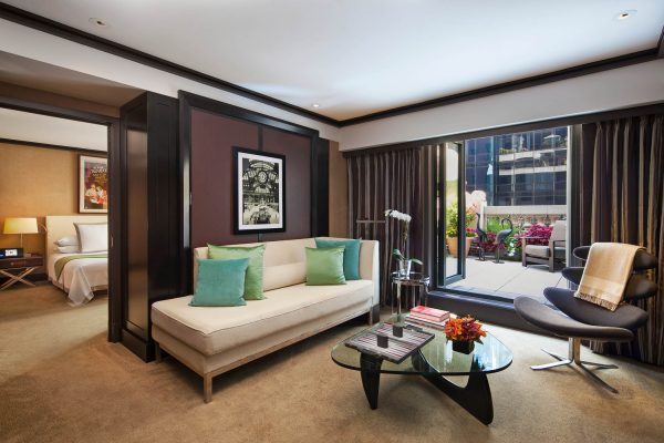 Fotógrafo Hotelaria The Chatwal Luxury Collection Hotel New York Chatwal Suite Living Room Area 600x400